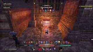 The Elder Scrolls Online: Magicka Nightblade (no siroria) 48.8k dps test G09_Gandlieu