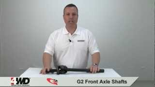 g2 front axle kits