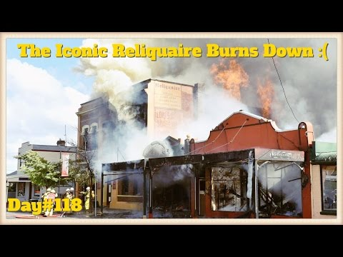 Daily Vlog 118: The Iconic Reliquaire Burns Down :(