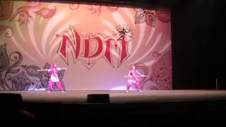 ndm dance 2014 ek do teen rayna patel bhangra