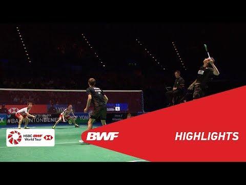 YONEX All England Open 2018 | Badminton MD - F - Highlights | BWF 2018