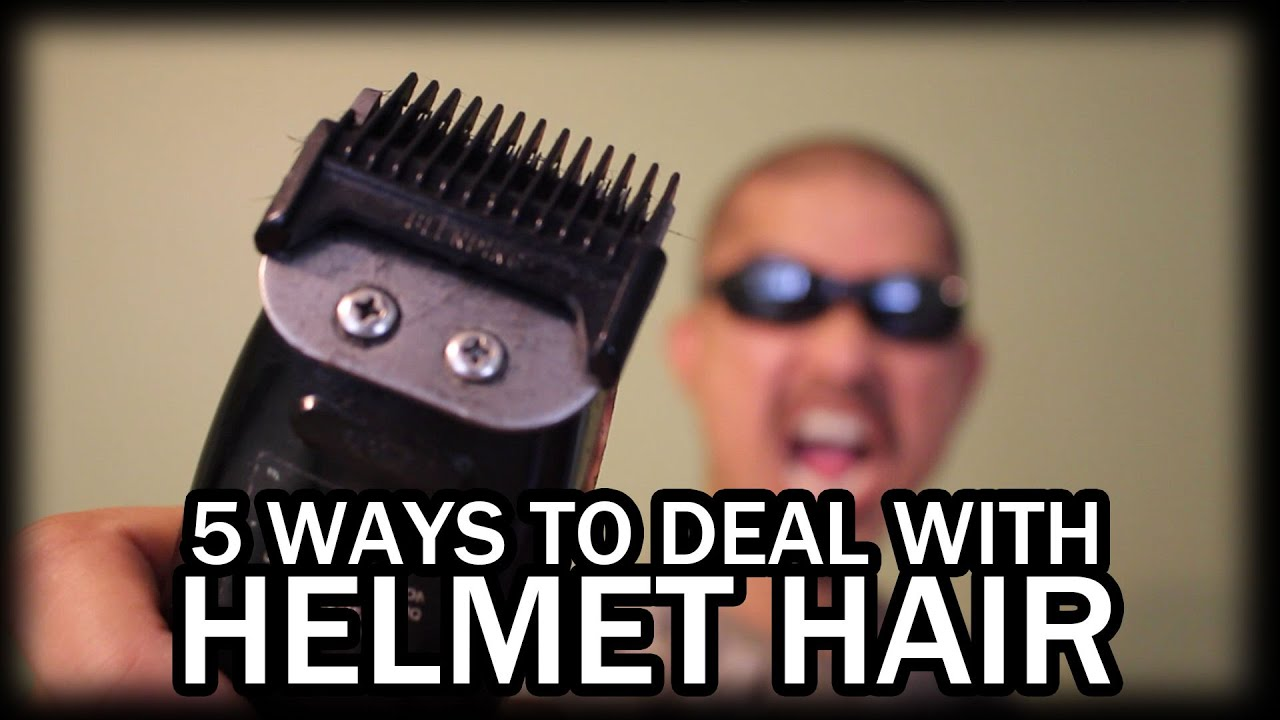 Helmet Hair 5 Ways To Prevent Avoid Or Deal With It