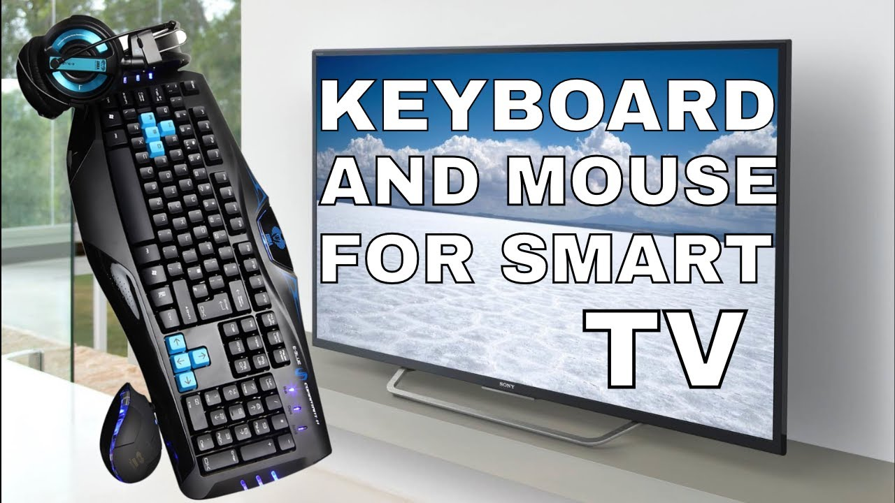 bc0ac3ec730 SONY BRAVIA - MOUSE & KEYBOARD CONNECT - YouTube