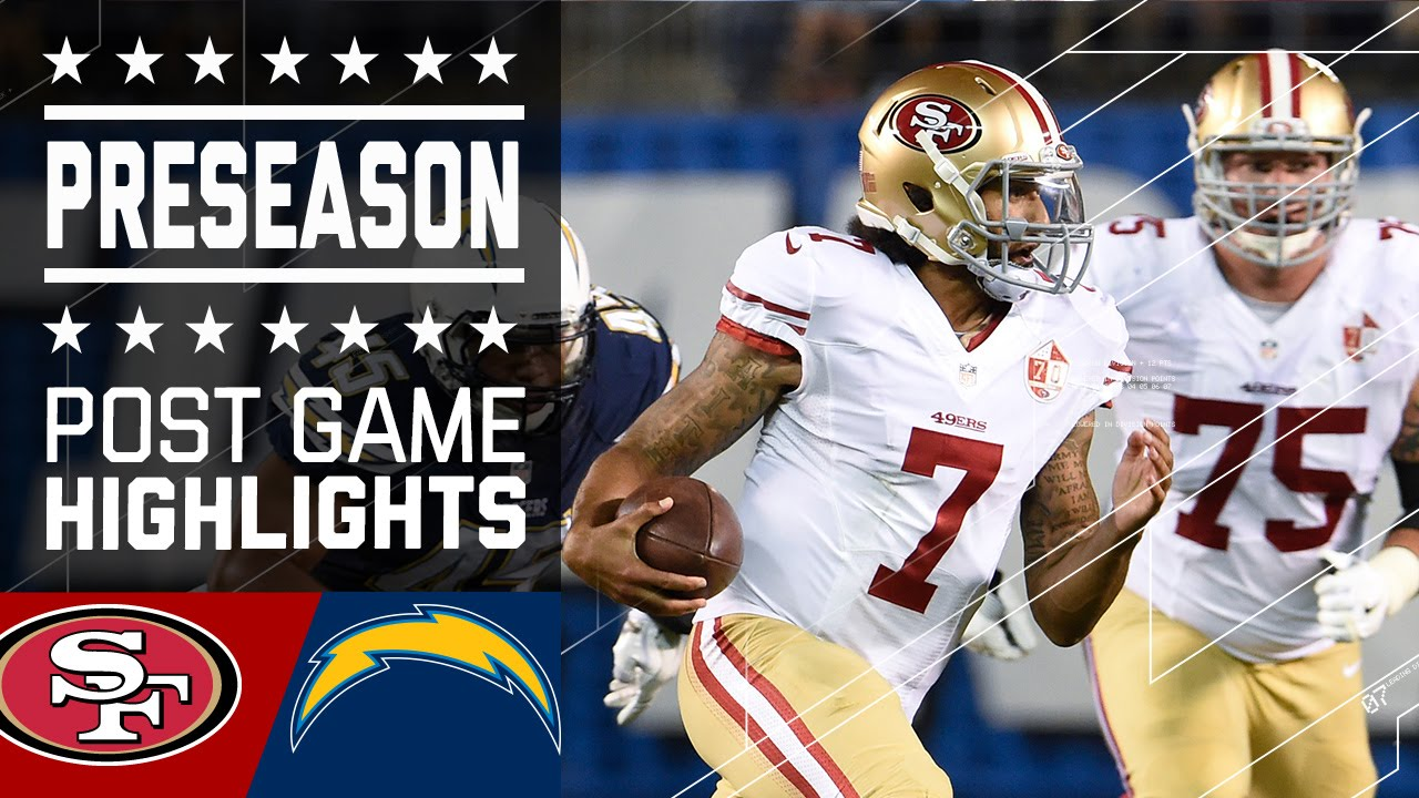 49ers Vs Chargers Game Highlights Nfl Youtube