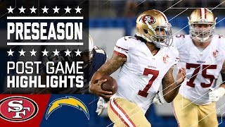49ers vs. Chargers | Game Highlights | NFL