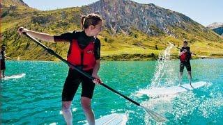 PADDLEBOARDING - Alpine Elements Summer Holidays
