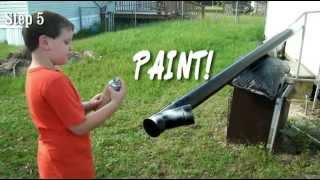 This Video Previously Contained A Copyrighted Audio Track. Due To A Claim By A Copyright Holder, The Audio Track Has Been Muted.     How To Build Best Pvc Pipe Deer Feeder Under $50 Easy Diy!