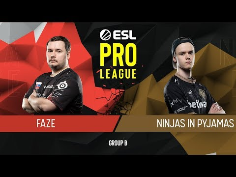 CS:GO - FaZe vs. NiP [Dust2] Map 2 - Group B - ESL Pro League Season 9 Europe thumbnail