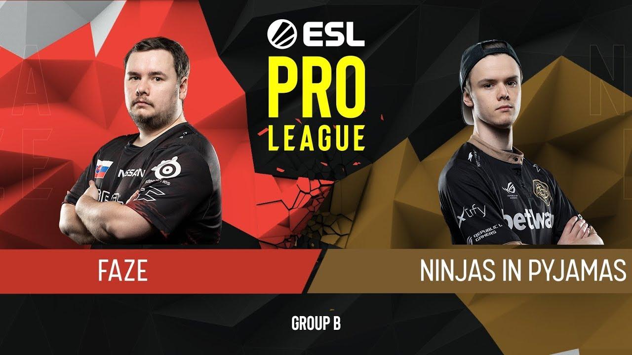 CS:GO - FaZe vs. NiP [Dust2] Map 2 - Group B - ESL Pro League Season 9 Europe