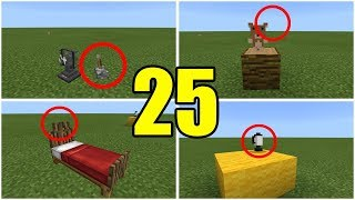 25 Secret Things You Can Spawn in Minecraft PE