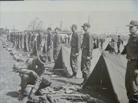 Fort Dix, New Jersey  1971  Basic Training
