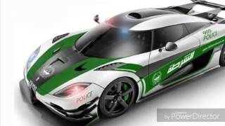 FASTEST COP CAR IN THE WORLD(dubai police)
