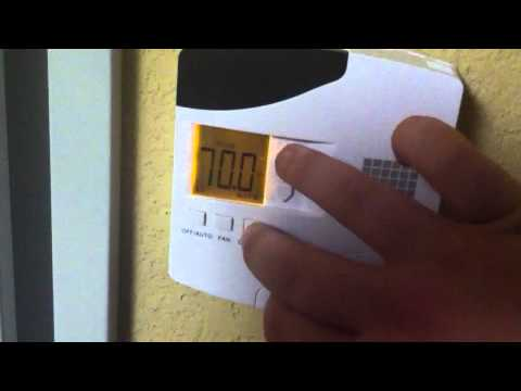 Hack A Hotel Thermostat In Under 60 Seconds!