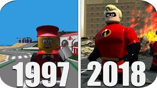 THE Evolution of LEGO Games 1997-2018