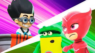 Play Doh Videos | Superhero Day Party Rescue 🦸 PJ Masks | Play-Doh Show Season 2 | Play-Doh Official