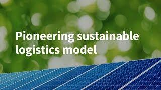 Pioneering Sustainable Logistics Model