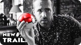 POKEMON DETECTIVE PIKACHU Ryan Reynolds becomes Pikachu (2019) Pokémon Movie