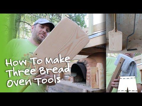 How To Make A Pizza Peel | 3 Cob Oven Tools