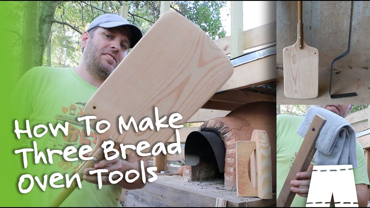 How to make a pizza peel 3 cob oven tools youtube for How to make a cob oven