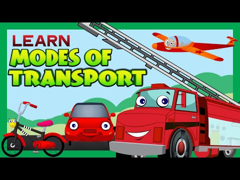 Modes of Transport for Children | Kids Learning | Kids Hut
