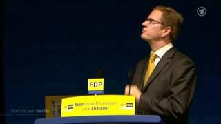 Guido Westerwelle hat die Krise hinter sich