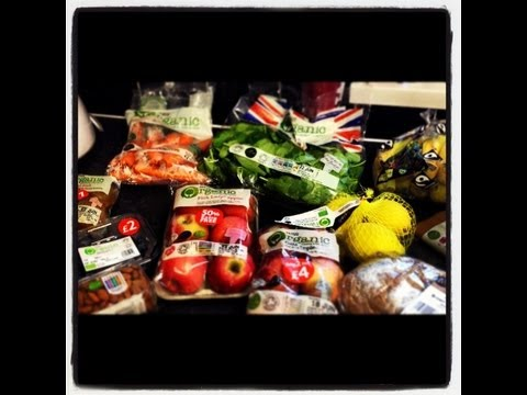 Organic Food Haul UK