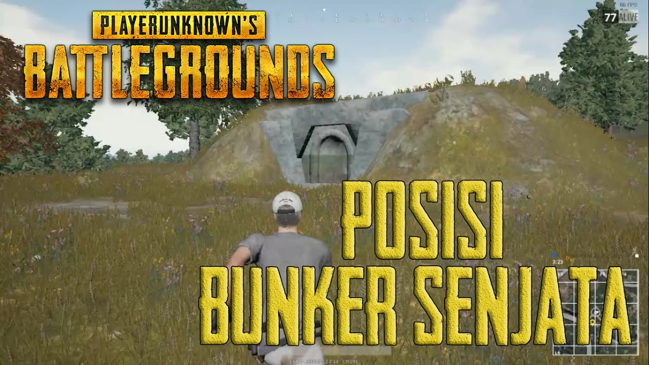 Posisi Bunker Senjata Playerunknown S Battlegrounds Youtube