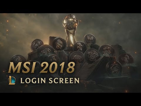 MSI 2018 | Login Screen - League of Legends (featuring Danger)