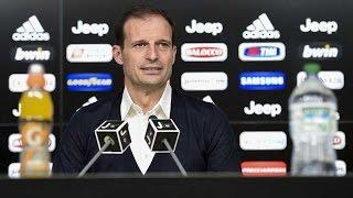 Frosinone-Juventus, la conferenza di Allegri - Allegri's press conference