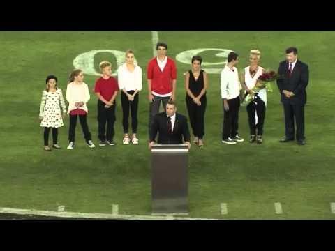 Kurt Warner Ring of Honor Speech - Sept. 8, 2014, Cardinals-Chargers