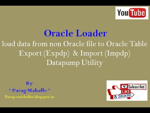 How to Perform Oracle Loader Export (Expdp) & Import (Imopdp) Datapump  utility  /* Step By Step /*