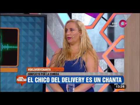 """Conflicto por la comida: """"El chico del delivery es un chanta"""""""