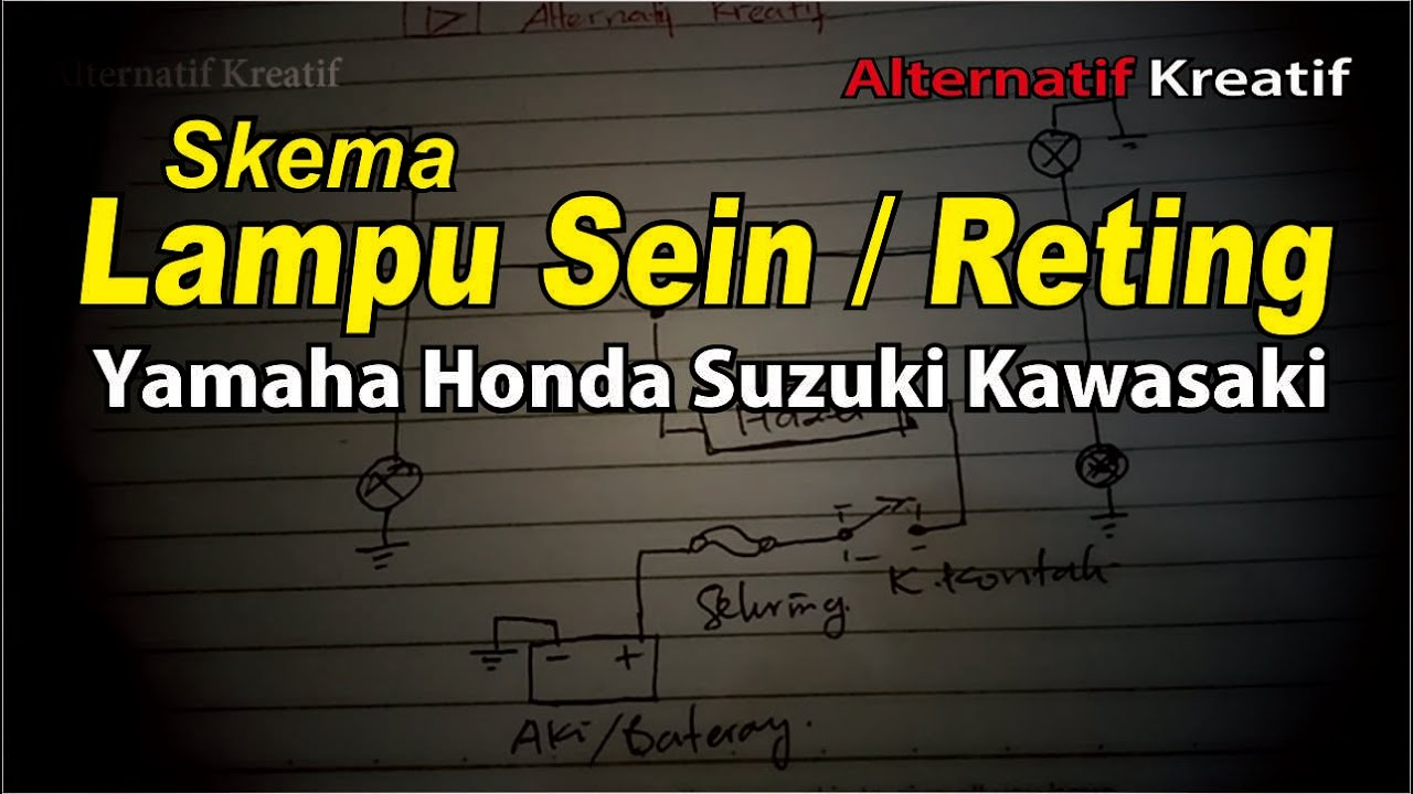 Diagram  Wiring Diagram Lampu Sein Motor Vega Full