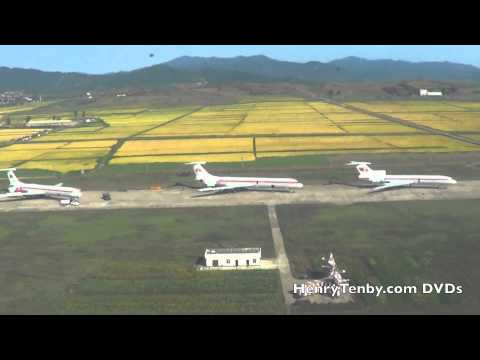 North Korea DPRK Air Force Mil-17 flight Myohyang to Pyongyang