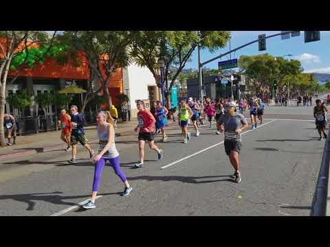 2018 LA Marathon - West Hollywood - Mile 15