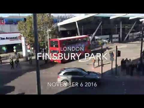 Finsbury Park London Timelapse