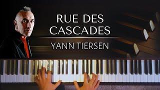Yann Tiersen: Rue des Cascades (full version) + piano sheets