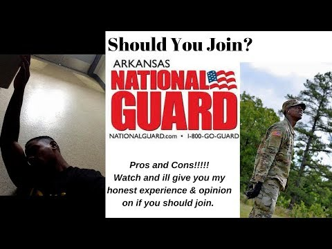 Should You Join The Army National Guard In 2018?