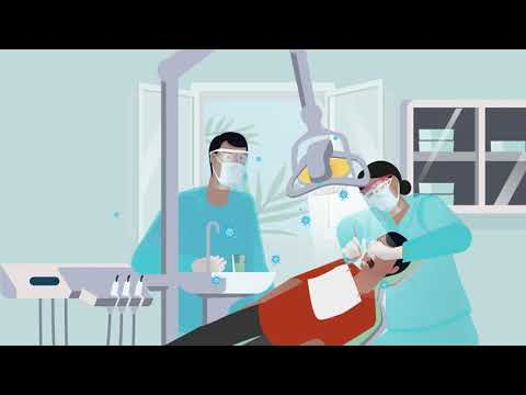 Oral health services during COVID-19: screening, triaging and reception (video 1 of 3)