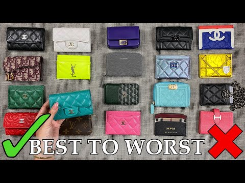 BEST To WORST | Ranking & Reviewing ALL My Luxury Cardholders - Ft. Chanel, LV, YSL, Dior