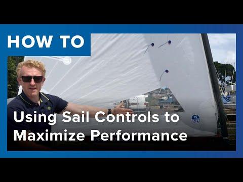 OK Dinghy: Using Sail Controls to Maximize Performance