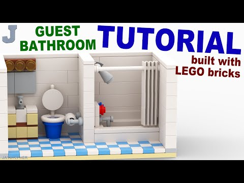 TUTORIAL - Lego Guest Bathroom [CC]