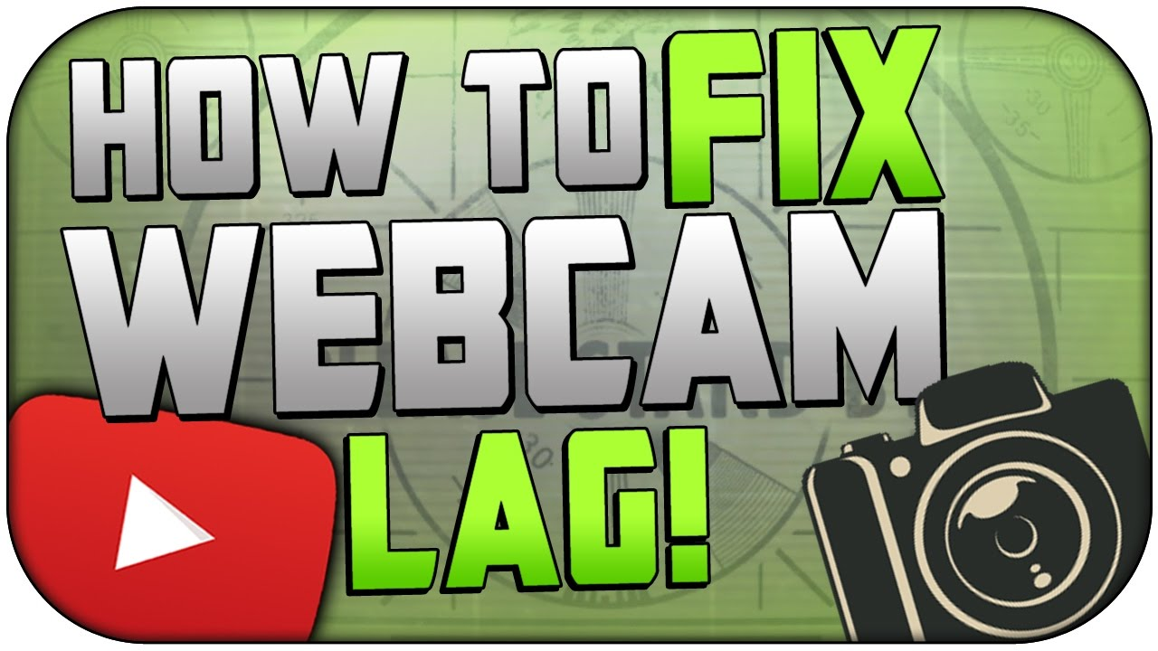 How To Fix Webcam Lag, Audio Delay, Etc! | Fix Webcam Problems In Any  Software | OBS, Elgato, Etc!