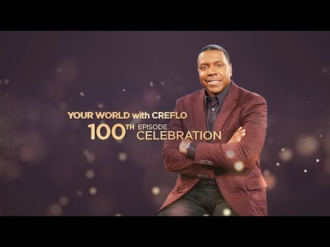 Tyrese & Samantha Gibson - Your World with Creflo: 100th Episode Special, Part 1