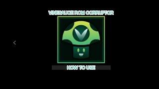 How to corrupt games! (Vinesauce RΟM Corruptor)