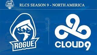 RGE vs C9 | Rogue vs Cloud9 | RLCS Season 9 - North America (15th Feb 2020)