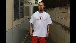 """新色""""BOBOBOBOUZU""""Tシャツ発売開始!! ボボボボウズ 2018 WHITE/RED. SHO FREESTYLE TV Part 717"""