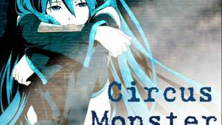 Repeat youtube video Circus Monster - Miku Dark