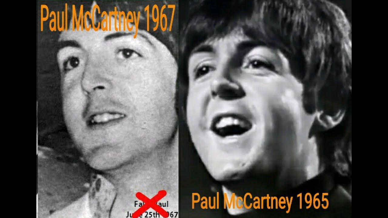 Paul McCartney Photo Comparison 1967 1965