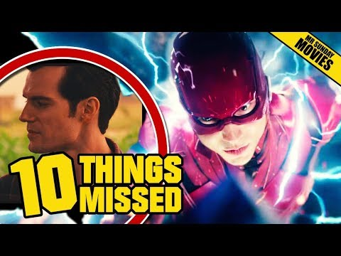 Thumbnail: JUSTICE LEAGUE Final Trailer - Things Missed & Easter Eggs